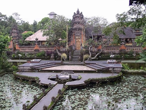 The Water Palace in Ubud, Bali.