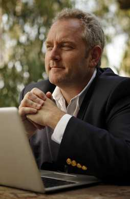 Andrew Breitbart didn't have a big cable news show, but his political commentary was heard