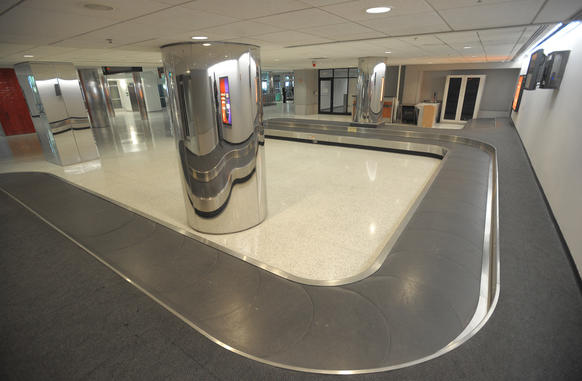 Baggage Claim 6 will become the new location for AirTran bag pickup as the airline moves to the opposite side of BWI. The airport is seeking to accommodate the merging of Southwest and AirTtran.