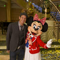 Disney Fantasy christening -- Ty Pennington