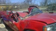Tornado damage pictures from Powersite, Mo.