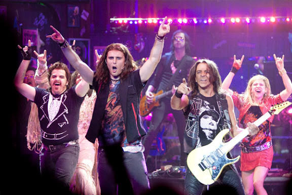"""Rock of Ages"" is a jukebox tribute to Journey, Pat Benatar and other bands of the 1980s."
