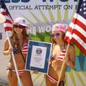 Spring Break Bikini Parade World Record Panama City Beach