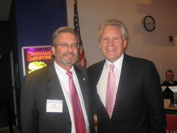 CEO, General Electric #28 Most Powerful People <br><br> CAPTION: Jeffrey Immelt is photographed with Dr. William Petit.
