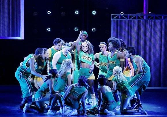 """Bring It On: The Musical"" is at the Cadillac Palace Theatre."