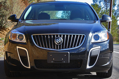 The Regal GS gets 270 horsepower and 295 pound-feet of torque from a 2.0-liter, direct-injected, turbocharged four-cylinder engine. Buick says it will do 0-60 mph in 6.7 seconds.