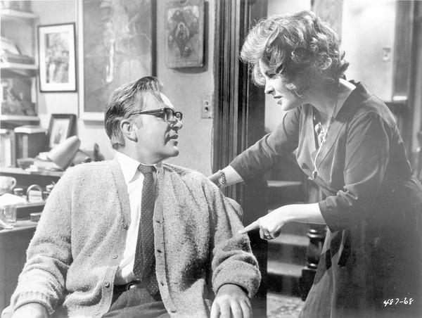 Richard Burton and Elizabeth Taylor in 'Who's Afraid of Virginia Woolf?'