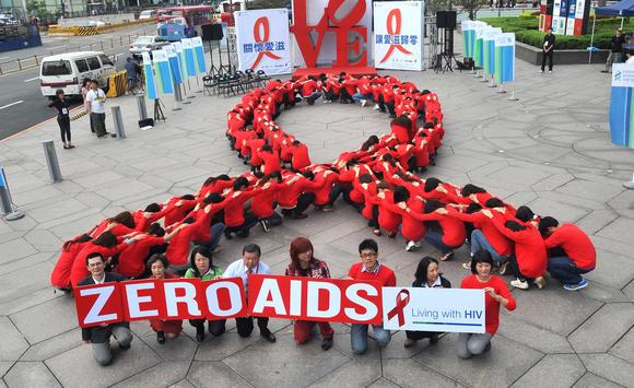 Human HIV chain
