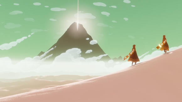 'Journey,' available Tuesday on the PS3, is sort of 'The Artist' of video games. No talking, and you're a troglodyte if you don't love it.