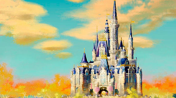 Storybook Castle at Shanghai Disneyland.