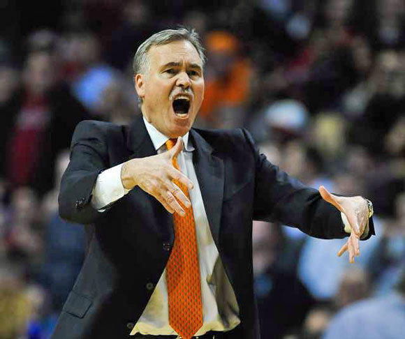 Mike D'Antoni is reportedly no longer the coach of the New York Knicks.