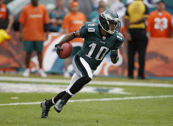 DeSean Jackson was re-signed by the Eagles to a five-year deal reportedly worth $51 million, according to ESPN.