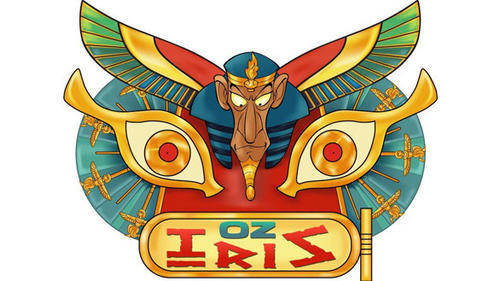 "OzIris loosely translates to ""Dare Iris,"" with Parc Asterix coaster riders daring to survive the hypnotic gaze of the Egyptian sorcerer Iris."