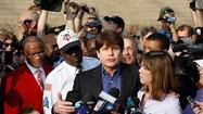 Rod Blagojevich addresses media