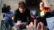 Rod Blagojevich may have a problem with hidden recording devices, but the convicted former governor rarely met a camera he didn't like and that held true even Wednesday with a choreographed-for-TV farewell on the eve of his imprisonment.
