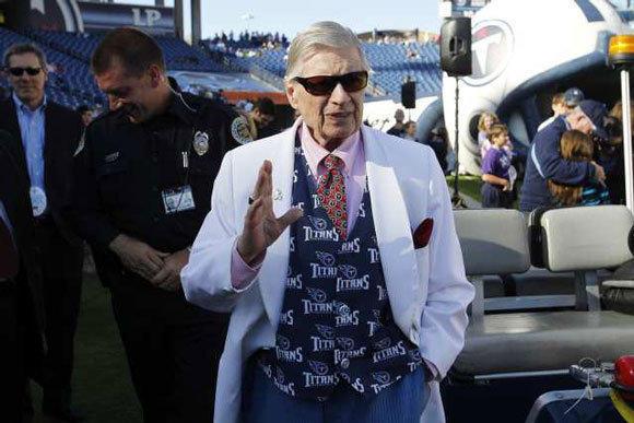 Tennessee Titans owner Bud Adams.