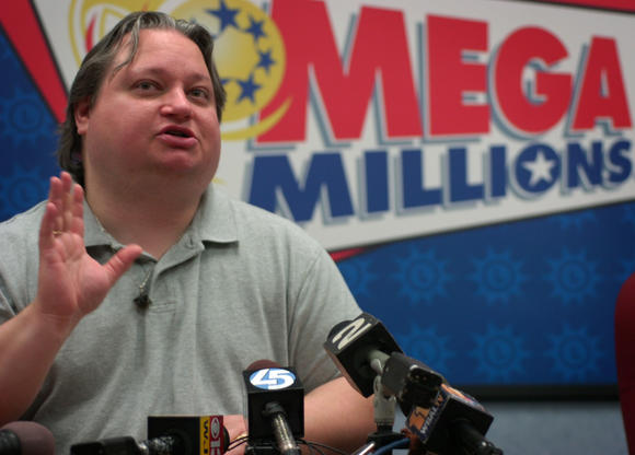 "Ellwood ""Bunky"" Bartlett cashed in a $27 million Mega Millions ticket in 2007. Now he's asking others to invest in his passion project, ""Your World."""