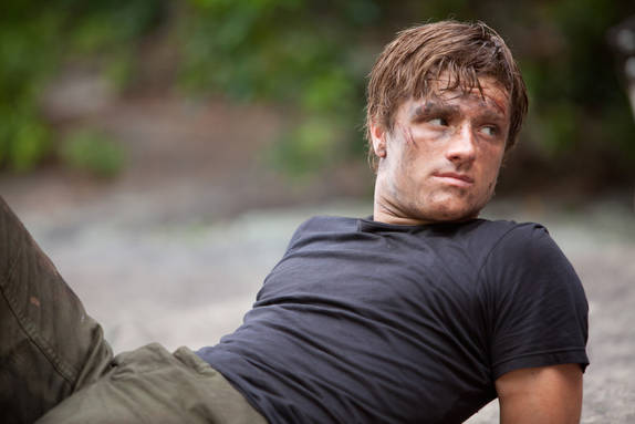 Josh Hutcherson as Peeta in 'The Hunger Games'