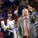 Coach Jim Calhoun Isn't Happy With UConn's First Half Against Iowa State