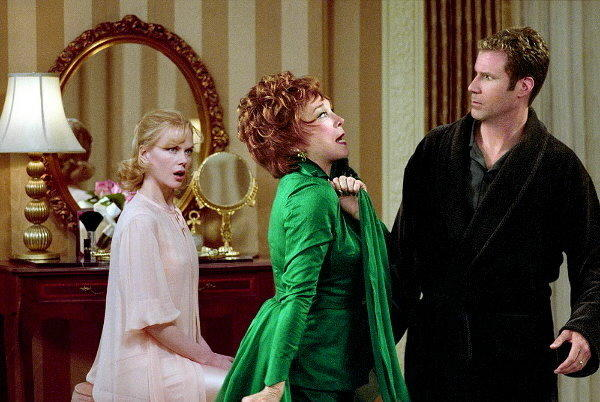 With Nicole Kidman and Will Ferrel.