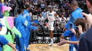 With questions about Dwight Howard's short-term future and their own short-term futures now settled, the Orlando Magic looked ahead toward the rest of their 2011-12 season today. They held a shootaround and film-review session to prepare for their game tonight against the New Jersey Nets.