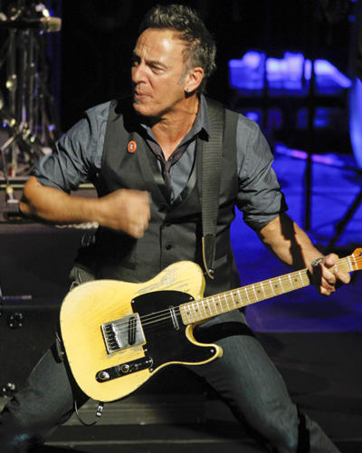 Bruce Springsteen performs with the E Street Band at the festival in Austin, Texas.