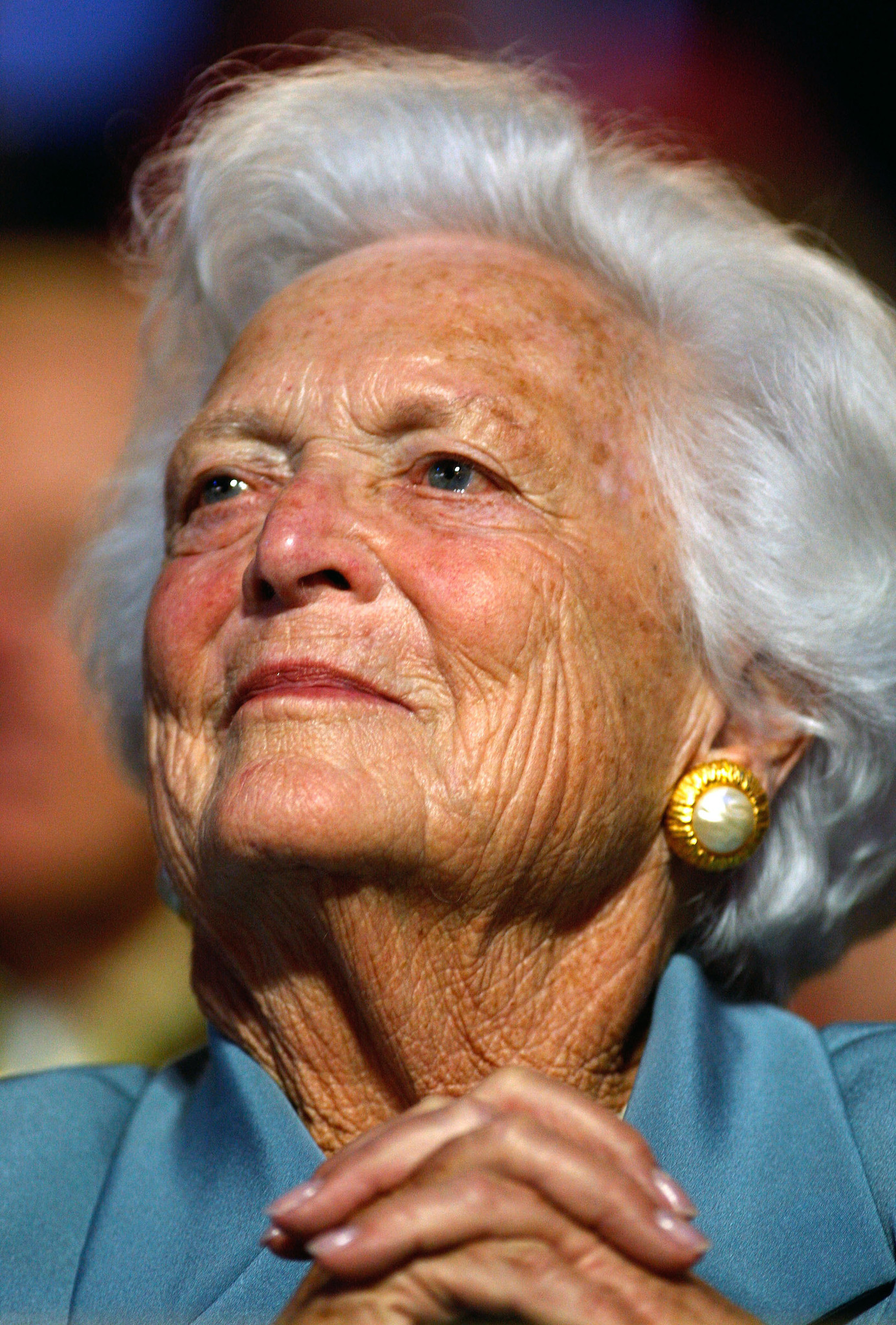 Pictures: Cruise ship godmothers - Barbara Bush
