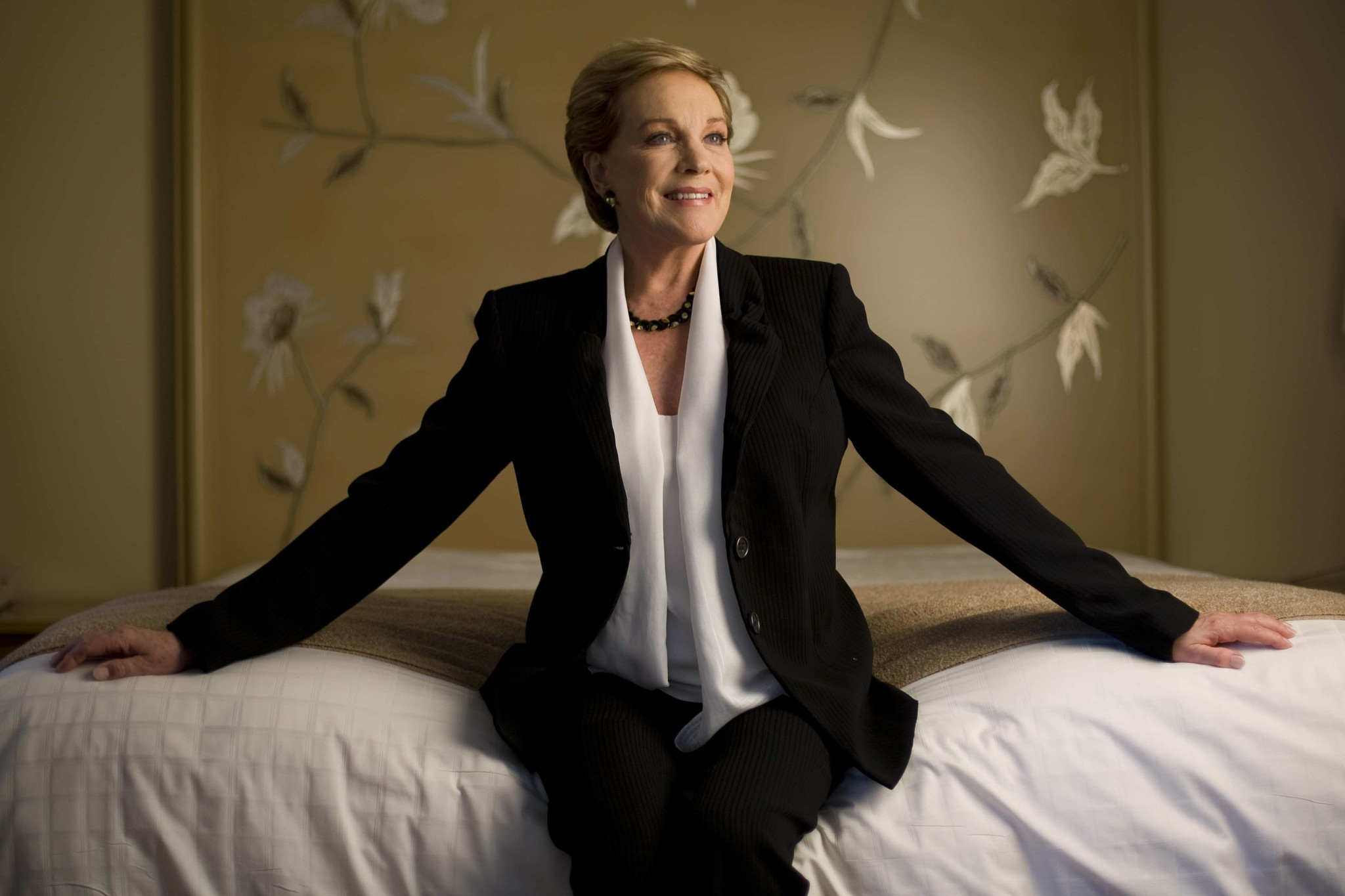 Pictures: Cruise ship godmothers - Julie Andrews