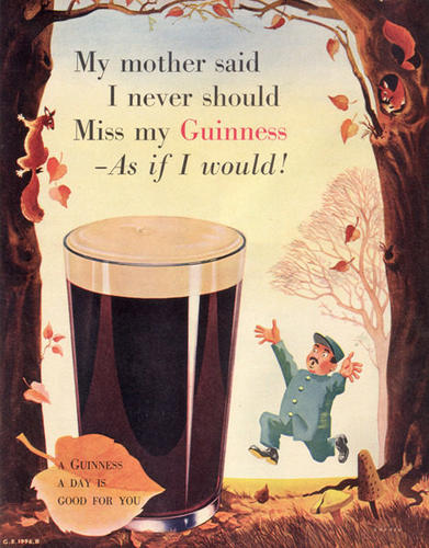 Guinness can reduce blood clots and the risk of heart attack. Guinness ...