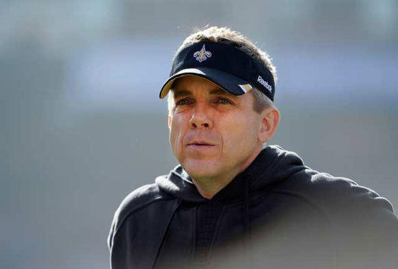 Sean Payton during the 2011 season.