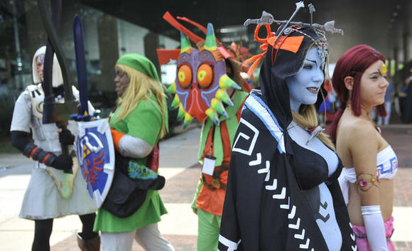 Just another day at the office: The scene at the 2010 Otakon