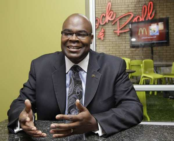 McDonald's Corp. president Don Thompson will soon become its CEO.