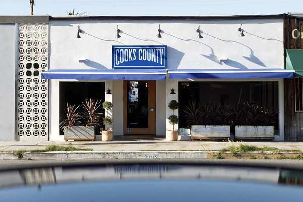 Cooks County is at 8009 Beverly Blvd., a few blocks west of Fairfax Avenue.