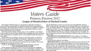 2012 Primary Election Voters Guide