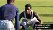 Apopka Wekiva defensive back Terrence Ross was quite happy Wednesday after talking with Louisville head coach Charlie Strong, who extended Ross his first college offer.