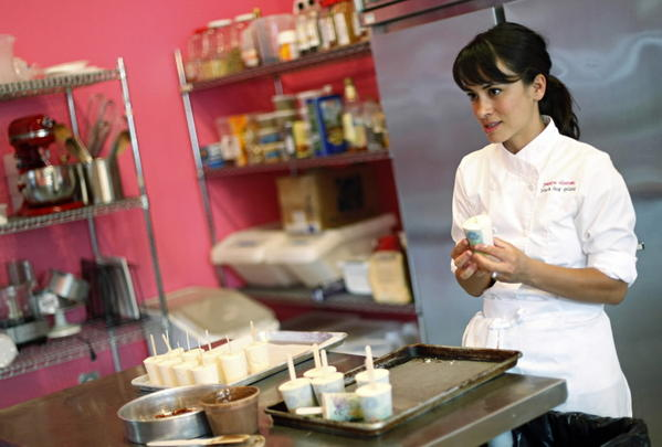 Jessica Oloroso, founder of Black Dog Gelato