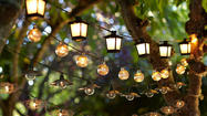 Choosing outdoor lighting