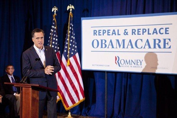 Mitt Romney speaks at a rally at Clearview Mall in Metairie, La. on March 23, 2012.