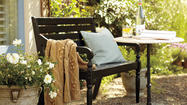 Decorate a small outdoor space