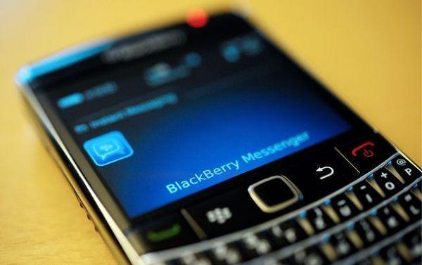 BlackBerry Messenger on a BlackBerry smartphone from Research In Motion.