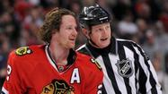 Chicago Blackhawks defenseman Duncan Keith had a disciplinary hearing scheduled for 1 p.m. to discuss his elbow to the head of the Vancouver Canucks' Daniel Sedin during Wednesday night's game at the United Center.