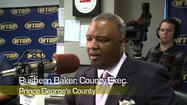 Prince George's County Executive Rushern Baker talks about his county budget, the proposed shift of the burden of teacher's pensions from the state to the counties and a proposal to turn the National Harbor into a high end gambling destination.