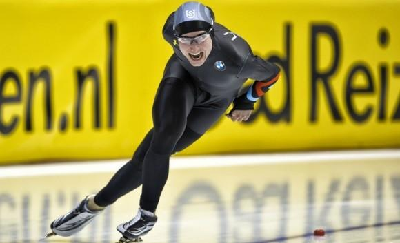 Jonathan Kuck on way to world bronze medal.