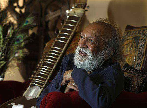 Ravi Shankar, 91, is India's most famous classical musician in the West since his collaborations with Beatle George Harrison and violinist Yehudi Menuhin in the 1960s.