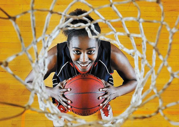 North Hagerstown senior Iman Scott is the 2011-12 Herald-Mail Washington County Girls Basketball Player of the Year.