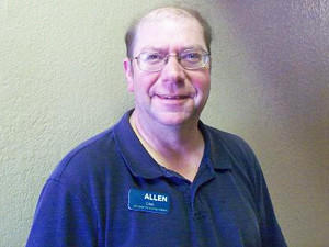 Allen Thornton, an orderly/certified nursing assistant, was named February employee of the month at Aberdeen Health and Rehab. He has worked at the facility for four years.