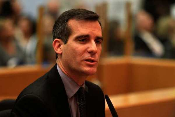 Eric Garcetti is deeply immersed in Los Angeles history, with roots in Italy and Mexico, heir to a significant family name and a three-term member of the City Council, where he spent six years as the council president.