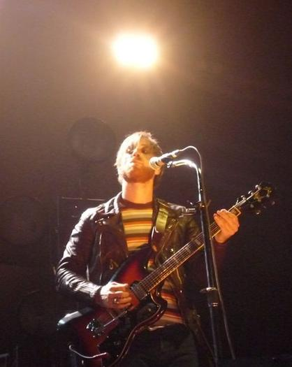 Black Keys front man Dan Auerbach at the Ted Constant Center, Norfolk, 3-23-12.