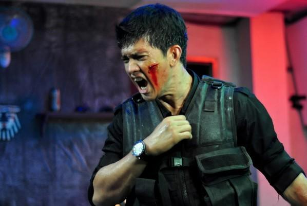 "Iko Uwais as Rama in the film, ""The Raid: Redemption"""