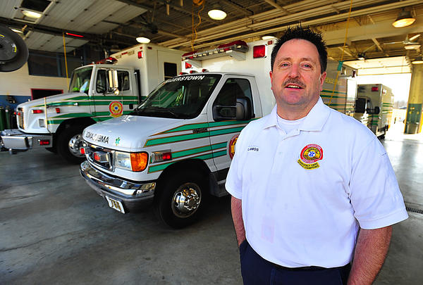 Chris Amos, chief of Community Rescue Service (CRS) in Hagerstown from 1994 through 2010.